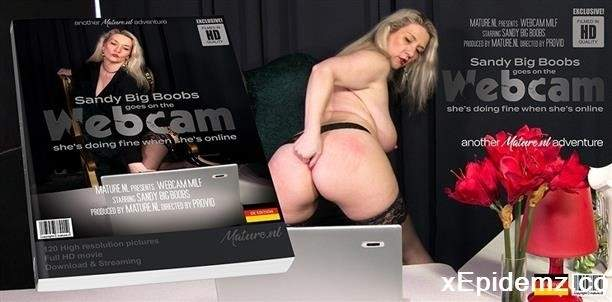 Sandy Big Boobs EU 47 - Naughty Sandy Big Boobs Getting Web In Front Of A Webcam (2020/Mature/SD)