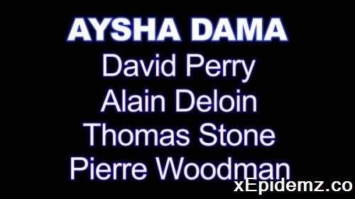 Aysha Dama - Xxxx - My First Dp With 4 Men (2020/WoodmanCastingX/SD)